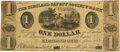 Obsoletes By State:Ohio, Kirtland, OH - Kirtland Safety Society Anti-Bank-ing Co. $1 Jan. 4,1837 OH-245 G2, Wolka 1422-01, Rust 12, Nyholm 8. PCGS Ver...