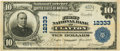 National Bank Notes:Missouri, Clayton, MO - $10 1902 Plain Back Fr. 635 The First NB Ch. # 12333PCGS Very Fine 30.. ...