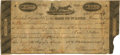 Obsoletes By State:Missouri, St. Louis, Missouri Territ'y - Bank of St. Louis (1st) $10 (Written) Post Note April 8, 1817 MO-45 G28. PCGS Very Fine 25 Appa...