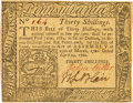Colonial Notes:Pennsylvania, Pennsylvania April 29, 1780 30 Shillings Fr. PA-229. PCGS ExtremelyFine 45 Apparent.. ...