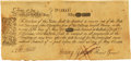 Colonial Notes:Massachusetts, Massachusetts Bay May 25, 1775 10 Shillings Fr. MA-142. PCGS VeryFine 30 Apparent.. ...