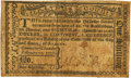 Colonial Notes:New York, New York The City and County of Albany February 17, 1776 1 Shilling or $1/8 Fr. NY-184.1 PCGS Very Fine 20 Apparent.. ...