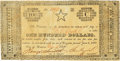 Obsoletes By State:Texas, Houston, TX - Republic of Texas $100 Dec. 15, 1837 Cr. H9A, Olson 481, Medlar 41var. PCGS Extremely Fine 40 Apparent.. ...