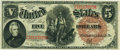 Large Size:Legal Tender Notes, Fr. 72 $5 1880 Legal Tender PCGS Extremely Fine 45PPQ.. ...