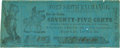 Obsoletes By State:Arkansas, Fort Smith, AR - P. Goodman-Fort Smith Exchange presented to Mayers & Bro. 75 Cents March 25, 1862 Rothert 235-2. PCGS Very Fi...