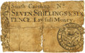 Colonial Notes:South Carolina, South Carolina 1731 7 Shillings 6 Pence Fr. SC-32. PCGS Good 6Apparent.. ...