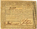 Colonial Notes:Virginia, Virginia May 7, 1781 $2000 Fr. VA-225. PCGS Extremely Fine 45 Apparent.. ...