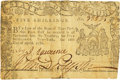 Colonial Notes:New York, State of New York April 18, 1786 5 Shillings Fr. NY-222. PCGS VeryFine 30 Apparent.. ...
