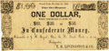 Obsoletes By State:Missouri, French Point, MO - T. R. Livingston & Co. Redeemable at J. M. Bryant's Store, C.[herokee] N.[ation], or at my Headquarters $1 ...