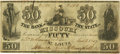 Obsoletes By State:Missouri, St. Louis, MO - Bank of the State of Missouri $50 Contemporary Counterfeit Jan. 1, 1847 MO-60 C6a. PCGS Very Fine 30. . ...