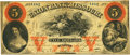 Obsoletes By State:Missouri, Milan, MO - Union Bank of Missouri, at their Bank in Milan $5 Sep. 1, 1860 MO-65 UNL SENC. PCGS Very Fine 20. . ...