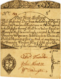 Colonial Notes:Rhode Island, Rhode Island July 5, 1715 Redated 1721 5 Shillings Fr. RI-13b. PCGS Very Fine 35 Apparent.. ...