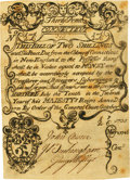 Colonial Notes:Connecticut, Colony of Connecticut July 10, 1733 Redated May 8, 1746 2 Shillings 6 Pence Fr. CT-42c. PCGS About New 50 Apparent.. ...