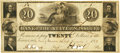 Obsoletes By State:Missouri, (St. Louis, MO) - Bank of the State of Missouri, Payable at the Bank of America, New York $20 November 1, 1838 MO-60 G260. PCG...