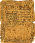 Colonial Notes:Pennsylvania, Pennsylvania August 10, 1739 20 Shillings Fr. PA-45. PCGS Fine 12Apparent.. ...