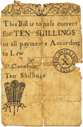 Colonial Notes:South Carolina, South Carolina 1723 10 Shillings Fr. SC-27. PCGS Very Good 10Apparent.. ...