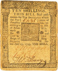 Colonial Notes:Pennsylvania, Pennsylvania April 25, 1759 10 Shillings Fr. PA-98. PCGS Very Fine25.. ...