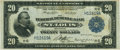 Fr. 825 $20 1918 Federal Reserve Bank Note PCGS Very Fine 30 Apparent