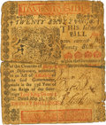 Colonial Notes:Delaware, Delaware May 31, 1760 20 Shillings Fr. DE-69. PCGS Fine 12 Apparent.. ...
