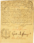 Colonial Notes:New Hampshire, Province of New Hampshire December 25, 1734 Portsmouth Merchants'sNote 7 Shillings Fr. NH-38.4. PCGS About New 53.. ...