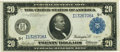 Large Size:Federal Reserve Notes, Fr. 996 $20 1914 Federal Reserve Note PCGS Choice About New 58PPQ.. ...