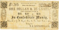 Obsoletes By State:Missouri, French Point, MO - T. R. Livingston & Co. Redeemable at J. M. Bryant's Store, C.[herokee] N.[ation], or at my Headquarters $1....