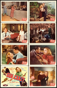"""Gun Crazy (United Artists, 1949). Lobby Card Set of 8 (11"""" X 14""""). ... (Total: 8 Items)"""