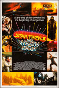 """Movie Posters:Science Fiction, Star Trek II: The Wrath of Khan (Paramount, 1982). Poster (30"""" X40""""). Science Fiction.. ..."""