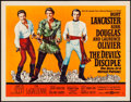 "Movie Posters:Comedy, The Devil's Disciple (United Artists, 1959). Half Sheet (22"" X 28"") Style A. Comedy.. ..."