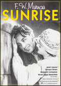 "Movie Posters:Academy Award Winners, Sunrise & Other Lot (20th Century Fox, R-1980s). German A1s (2)(23.25"" X 33.25"", 23.25"" X 33""). Academy Award Winners.. ...(Total: 2 Items)"