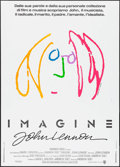 "Movie Posters:Rock and Roll, Imagine: John Lennon (Warner Brothers, 1988). Italian 2 - Fogli(39.25"" X 55""). Rock and Roll.. ..."