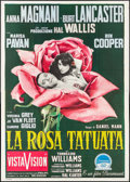 "Movie Posters:Drama, The Rose Tattoo (Paramount, 1955). Italian 4 - Fogli (55"" X 77.5""). Drama.. ..."
