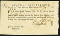 Colonial Notes:Connecticut, Hartford, CT Pay Table Office £20 Sep. 26, 1781 Extremely Fine.. ...