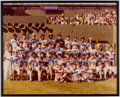Autographs:Photos, 1983 American League All-Star Multi-Signed Oversized Photograph.....
