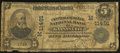 National Bank Notes:Missouri, Kansas City, MO - $5 1902 Plain Back Fr. 606 The Central ExchangeNB Ch. # (M)11491. ...