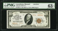 National Bank Notes:Missouri, Luxemburg, MO - $10 1929 Ty. 2 Lafayette NB & TC Ch. # 13514....