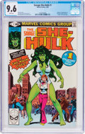 Modern Age (1980-Present):Superhero, The Savage She-Hulk #1 (Marvel, 1980) CGC NM+ 9.6 White pages....