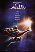 "Movie Posters:Animation, Aladdin (Buena Vista, 1992). One Sheet (27"" X 40"") DS Advance. Animation.. ..."