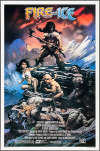 """Fire and Ice (20th Century Fox, 1983). One Sheet (27"""" X 41""""). Animation"""