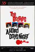 "Movie Posters:Rock and Roll, A Hard Day's Night (Miramax, R-1999). 35th Anniversary One Sheet(27"" X 40"") SS Advance. Rock and Roll.. ..."