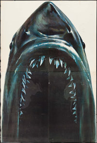"Jaws 2 (Universal, 1978). Door Display (145"" X 98""). Horror"