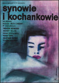Movie Posters:Drama, Sons & Lovers (CWF, 1963). First Release Polish Po...