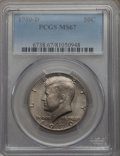 Kennedy Half Dollars, 1980-D 50C MS67 PCGS. PCGS Population: (38/1). NGC Census: (13/0).Mintage 33,456,448. ...