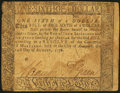 Colonial Notes:Maryland, Maryland August 14, 1776 $1/6 Fine.. ...