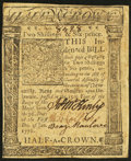 Colonial Notes:Delaware, Delaware January 1, 1776 2s 6d Extremely Fine.. ...