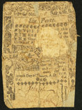 Colonial Notes:Rhode Island, Rhode Island January 15, 1776 6d About Good.. ...