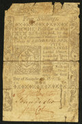 Colonial Notes:Rhode Island, Rhode Island November 6, 1775 5s Fine.. ...