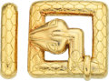 Estate Jewelry:Other, Gold Belt Buckle Set, David Webb. ...