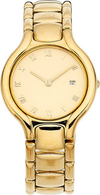 Ebel Lady's Gold Beluga Watch