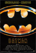 "Movie Posters:Action, Batman (Warner Brothers, 1989). One Sheet (27"" X 40.5""). Action.. ..."